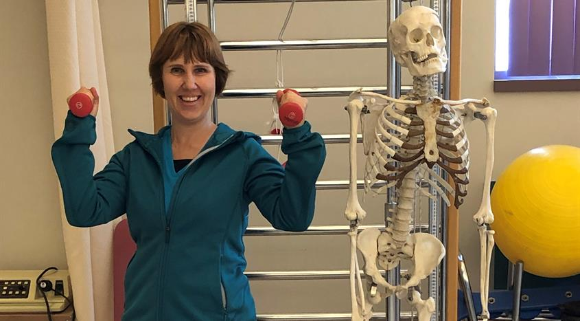 Natalia Brown, physiotherapist in Powell River