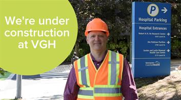 We are under construction at VGH