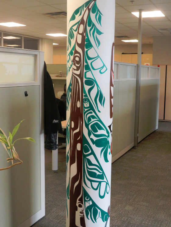 Indigenous art brings healing to the workplace